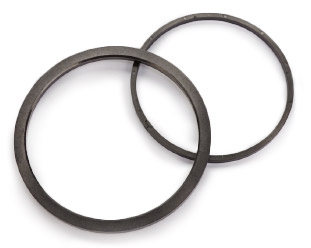 Slide-ring seals for water pumps
