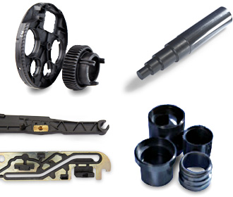 Various applications of LUVOCOM® carbon-fibre reinforced